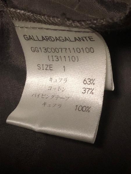 ガリャルダガランテ ジャケット サイズ1 S レディース美品  ダークブラウン プリーツ
