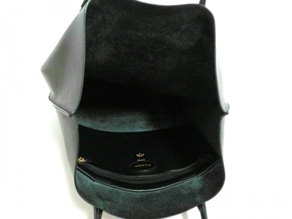 MULBERRY(マルベリー) トートバッグ - 黒 レザー