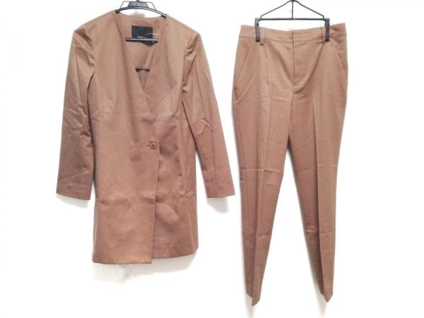 wb(ダブリュービー) レディースパンツスーツ サイズ38 M レディース ブラウン