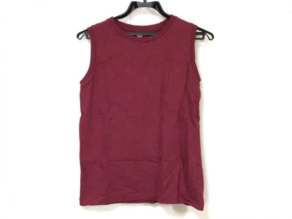 FilMelange(フィルメランジェ) ノースリーブTシャツ レディース ボルドー