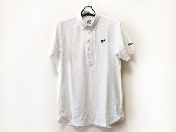 マスターバニーエディション 半袖ポロシャツ サイズ4 XL メンズ美品  白