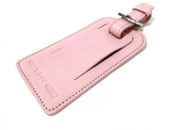 TIFFANY&Co.(ティファニー) 小物美品  1837 ピンク ネームタグ レザー