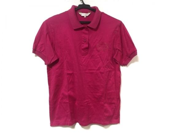 クリスチャンディオールスポーツ 半袖ポロシャツ サイズM レディース ピンク