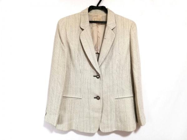 ROSSA(ロッサ) ジャケット サイズ42 L レディース美品  アイボリー