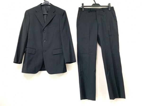 Burberry Black Label(バーバリーブラックレーベル) シングルスーツ メンズ 黒