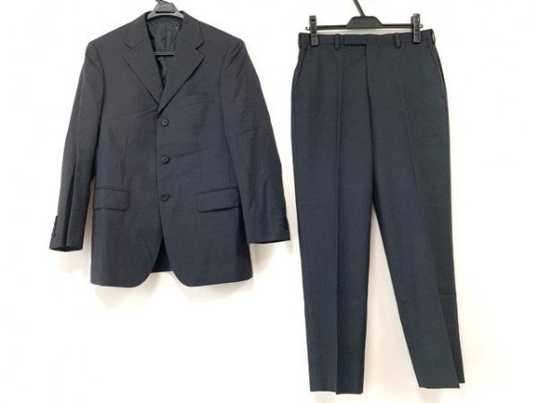 バーバリーブラックレーベル シングルスーツ メンズ ダークグレー