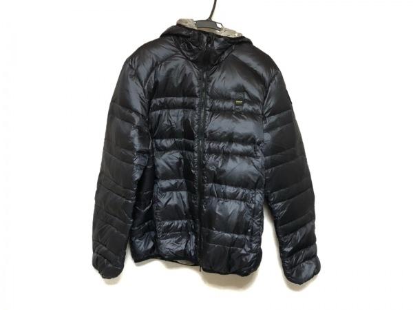 ブラウアー ダウンジャケット サイズXL メンズ美品  ダークグレー 冬物/ジップアップ