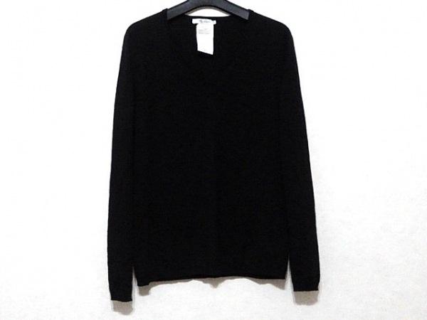 Max Mara(マックスマーラ) 長袖セーター サイズL レディース美品  黒