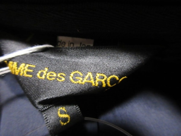 コムデギャルソン ジャケット サイズS レディース美品  黒 フェイクレイヤード