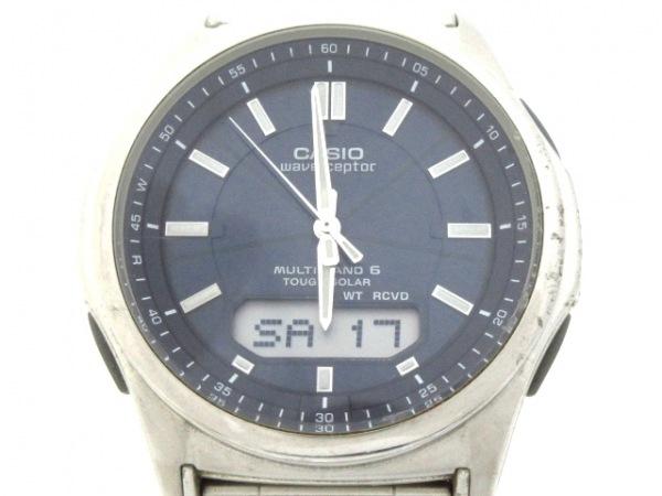 CASIO(カシオ) 腕時計 WVA-M630 メンズ ダークネイビー