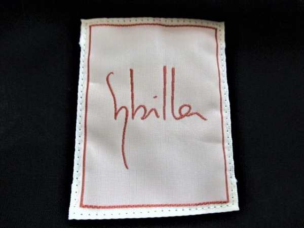 Sybilla(シビラ) キャミソール サイズM レディース美品  黒 3