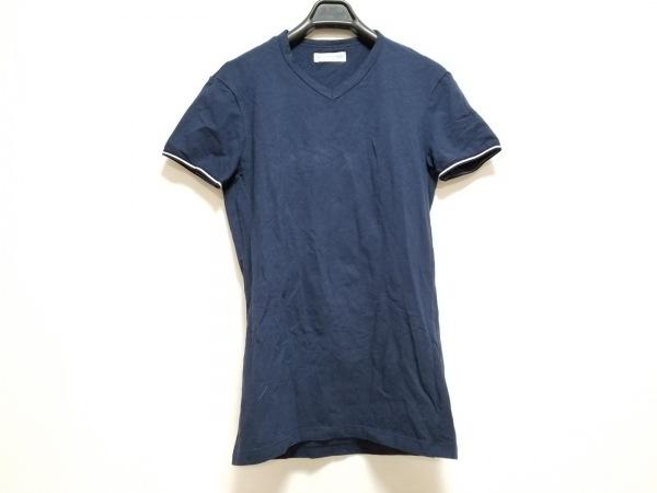 エンポリオアルマーニ アンダーウェア 半袖Tシャツ サイズS レディース ネイビー