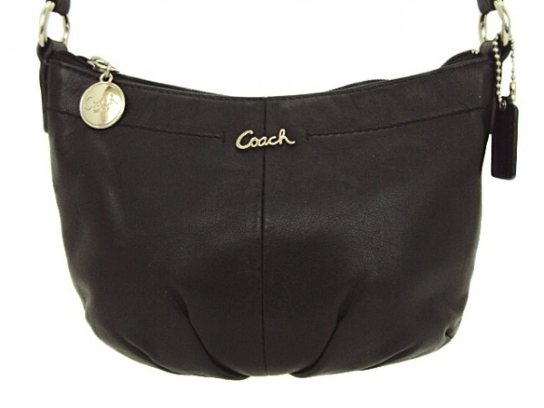 COACH(コーチ) ショルダーバッグ - - 黒 レザー