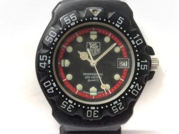タグホイヤー 腕時計 プロフェッショナル200 383.513/1 レディース ラバーベルト