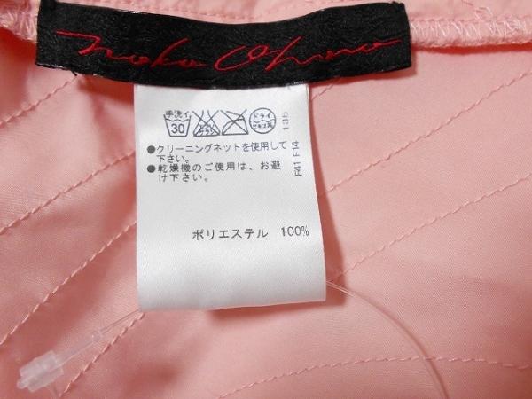 NOKO OHNO(ノコオーノ) ワンピース サイズ38 M レディース ピンク フリル/ビジュー