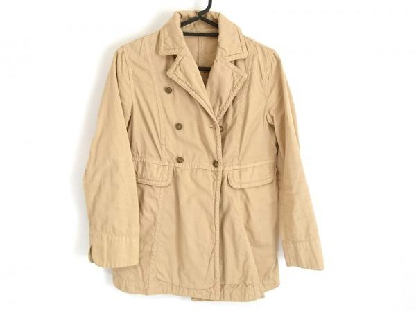 MACPHEE(マカフィ) ジャケット サイズ38 M レディース ベージュ