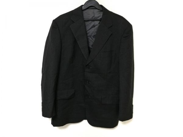 J.PRESS(ジェイプレス) ジャケット メンズ 黒 ストライプ