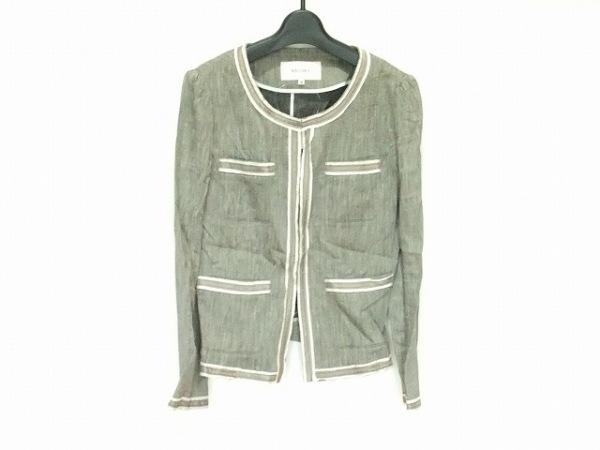 ボールジー ジャケット サイズ38 M レディース 黒×ベージュ×マルチ 春・秋物