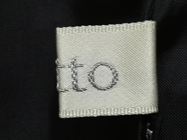 OTTO(オットー) コート サイズ9 M レディース美品  黒×ベージュ 春・秋物
