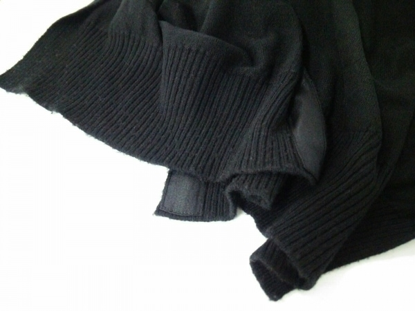 LOUIS VUITTON(ルイヴィトン) ポンチョ サイズS レディース美品  黒 6