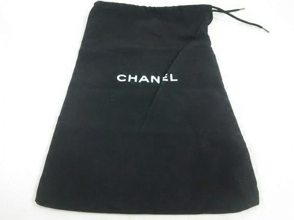 CHANEL(シャネル) サンダル 35 レディース美品  黒×白 サテン