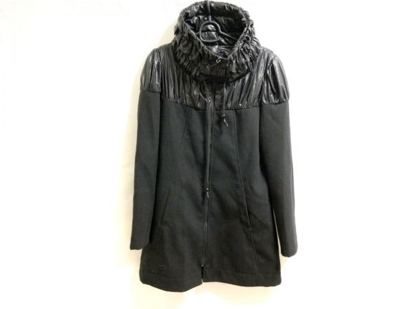 MISS SIXTY(ミスシックスティ) コート レディース美品  黒 冬物/ジップアップ