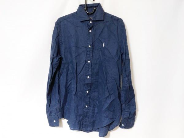 POLObyRalphLauren(ポロラルフローレン) 長袖シャツ サイズ4 XL メンズ ネイビー