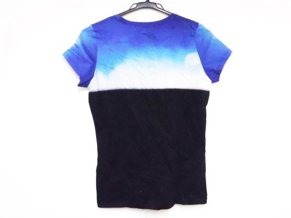 PaulSmith(ポールスミス) 半袖Tシャツ サイズM レディース 黒×ブルー×ピンク