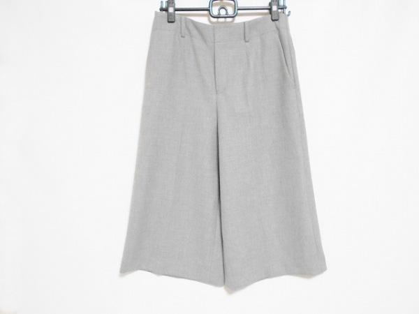 AMACA(アマカ) パンツ サイズ40 M レディース美品  ライトグレー 七分丈