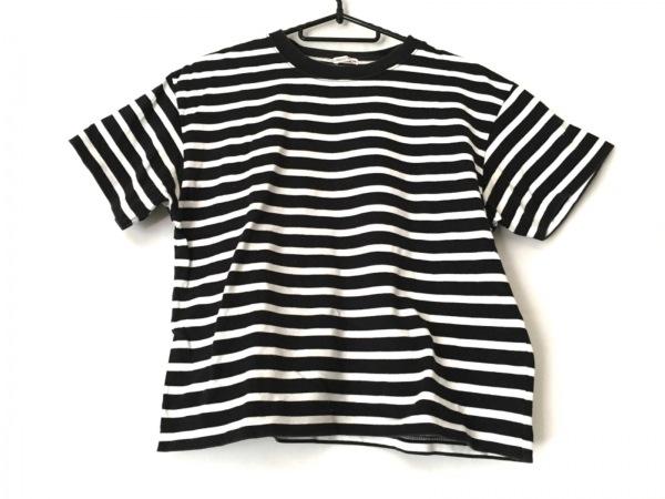 DRESSTERIOR(ドレステリア) 半袖Tシャツ レディース 黒×白 ボーダー