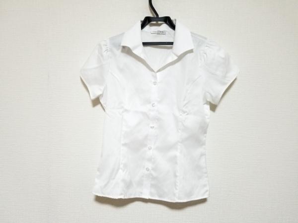 NARACAMICIE(ナラカミーチェ) 半袖シャツブラウス サイズ1 S レディース美品  白