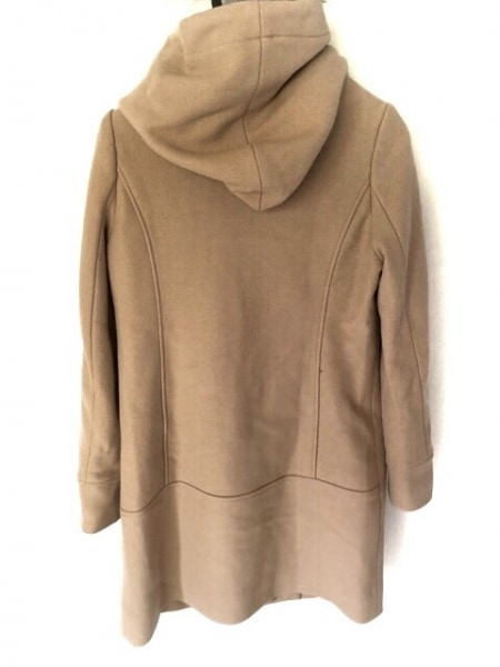 ヴァンドゥ オクトーブル コート サイズ38 M レディース美品  ベージュ 冬物