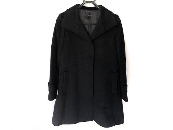 22OCTOBRE(ヴァンドゥ オクトーブル) コート サイズ38 M レディース美品  黒 冬物