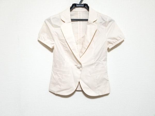 CrystalSylph(クリスタルシルフ) ジャケット サイズ32S レディース美品  ピンク 半袖