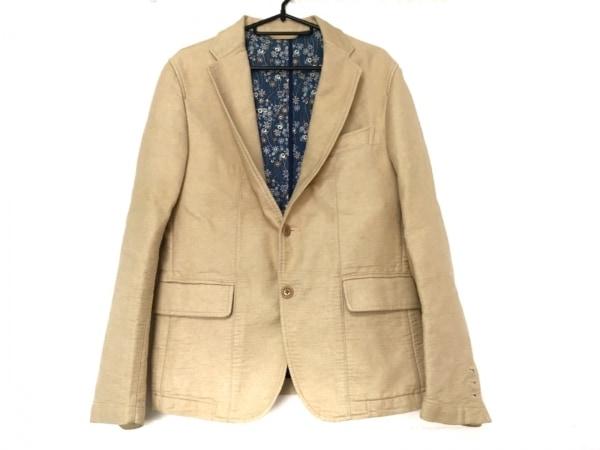 SHIPS(シップス) ジャケット サイズ46 XL メンズ美品  ベージュ