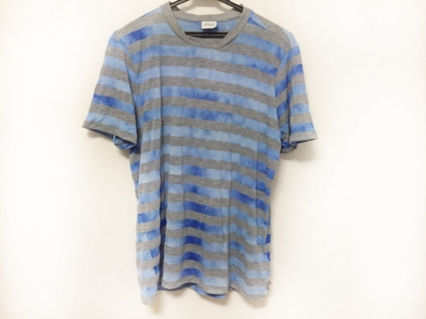 アルマーニコレッツォーニ 半袖Tシャツ サイズXL メンズ美品  ボーダー