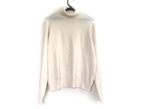 バレンシアガ 長袖セーター サイズ36 S レディース アイボリー タートルネック