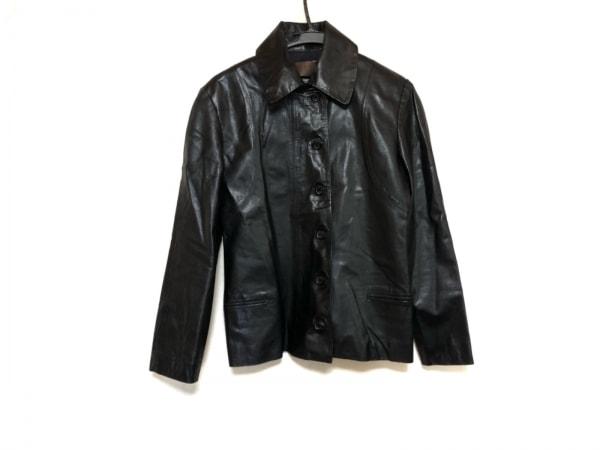 LOEWE(ロエベ) ジャケット レディース美品  黒 レザー