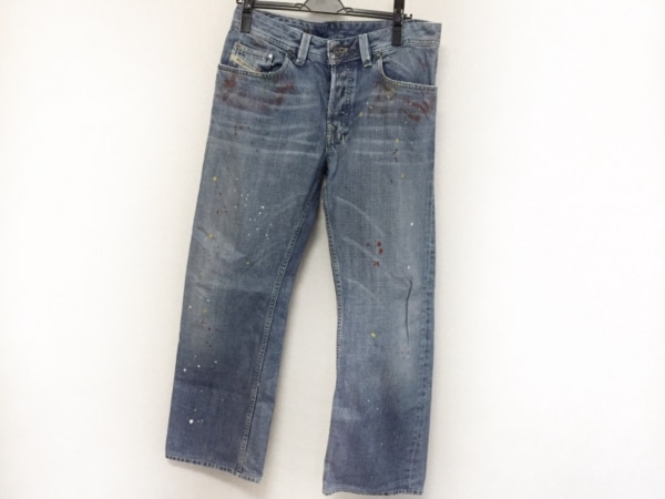 DIESEL(ディーゼル) ジーンズ サイズ31 メンズ美品  LEVAN ブルー×マルチ
