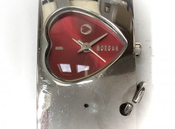 MORGAN(モルガン) 腕時計 MG001 レディース ハート レッド