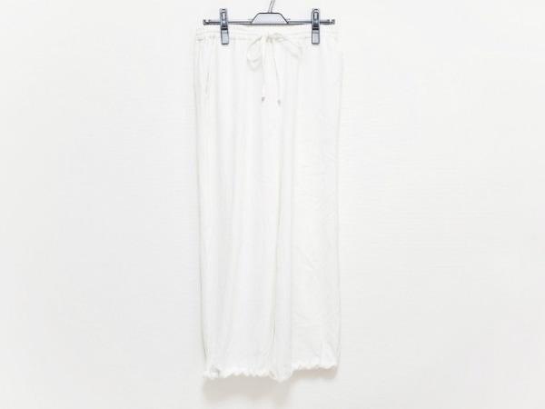 whim gazette(ウィムガゼット) パンツ レディース美品  白
