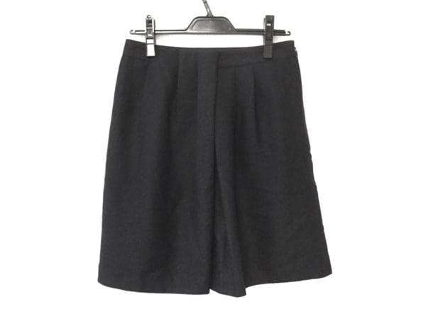 マッキントッシュフィロソフィー スカート サイズ38 L レディース 黒 プリーツ