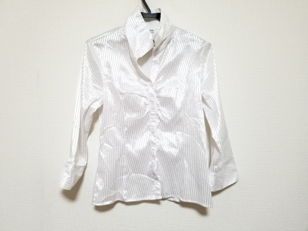 NARACAMICIE(ナラカミーチェ) 長袖シャツブラウス サイズ3 L レディース美品  白