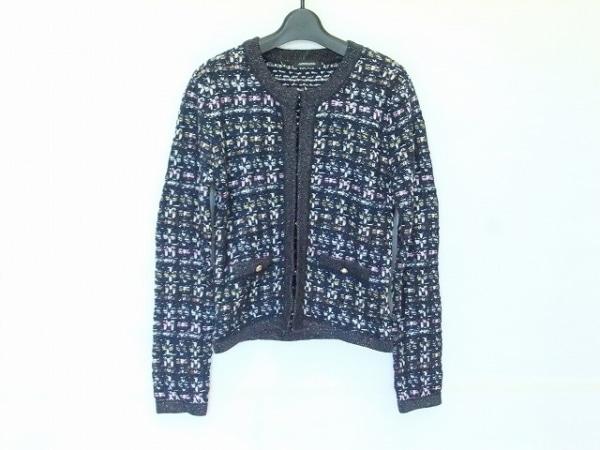 LOVELESS(ラブレス) ジャケット サイズ36 S レディース ネイビー×白×マルチ ラメ