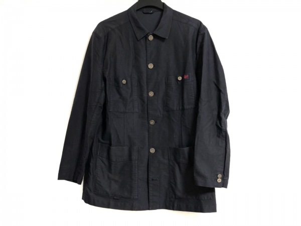 Papas(パパス) コート サイズL メンズ ダークグレー 春・秋物