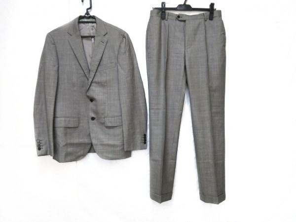 EDIFICE(エディフィス) シングルスーツ サイズ46 XL メンズ グレー