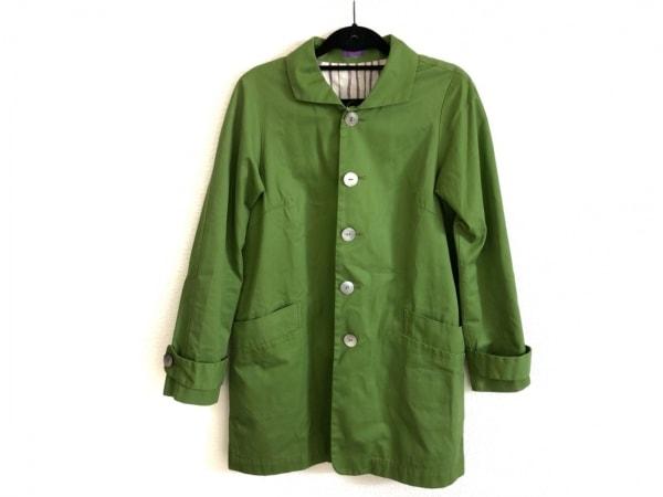 パラスパレス コート サイズ2 M レディース美品  ライトグリーン 春・秋物