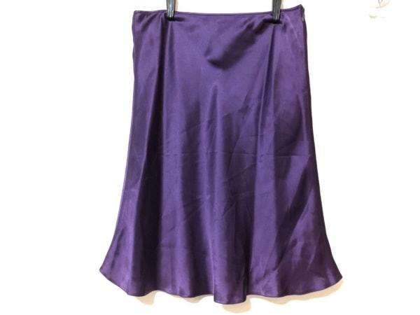 ANNA MOLINARI(アンナモリナーリ) スカート サイズ40 M レディース パープル