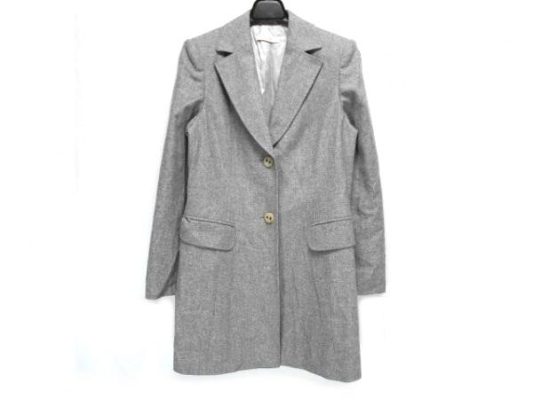 Laurel(ローレル) コート サイズ36 S レディース ライトグレー 肩パッド/春・秋物