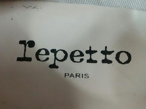 repetto(レペット) フラットシューズ 37 レディース 黒 アウトソール張替済 レザー